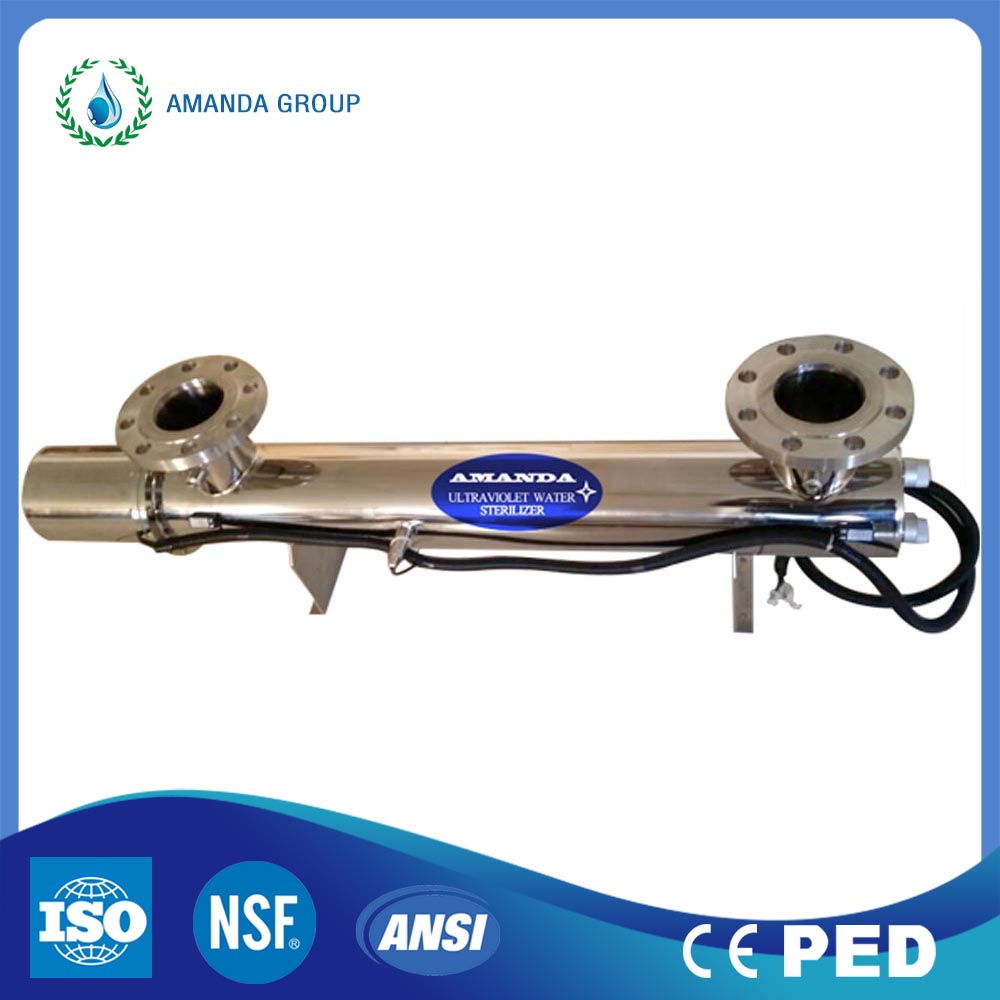 Indurstrial UV Light Sterilizer for Water Filling Line