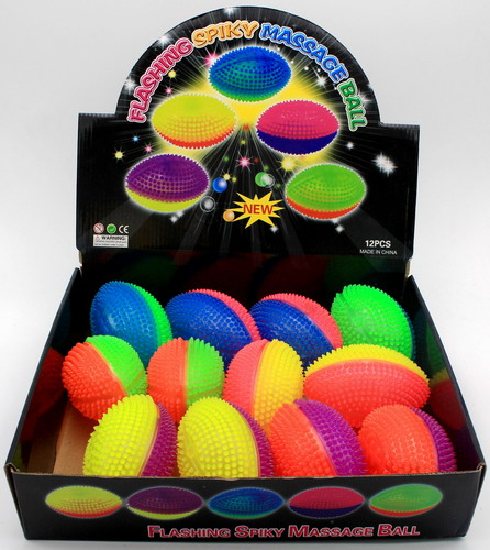 Light Up Two-tone Sports Balls