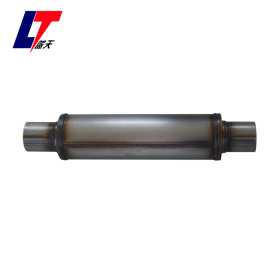 Stainless steel 4'' round car muffler LT414200