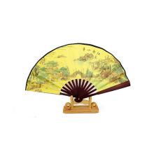 ventilador de mão de madeira pessoal chinês personalizado