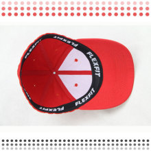 6 Panel Black Embroidery Baseball Caps