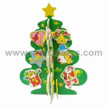 Wooden Lacing Toys of Christmas Tree (81246)