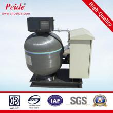 Песочный фильтр с автоматической промывкой стекловолокна обратной промывки