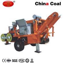 Ensemble d'extracteur de câble électrique souterrain hydraulique monté par remorque de 250 kilogrammes