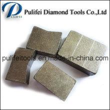Segment de diamant Arix Sandwich en couches pour la coupe de pierre abrasive