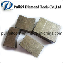 Layered Sandwich Arix Diamond Segment for Abrasive Stone Cutting