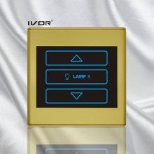 Interruptor del regulador de la cuadrilla 1 en marco plástico del esquema (SK-T2300D1)