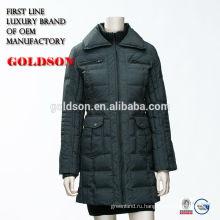 2017 новый стиль открытый длинный женщин зимняя куртка