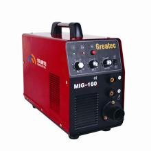 Máquina de soldadura MIG / MMA do inversor (MIG160)