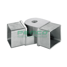 Casting High Quality Indoor 304 316 Stainless Steel Adjustable Pipe Tube Connector accessories