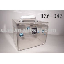 transparentes Acryl-Gehäuse