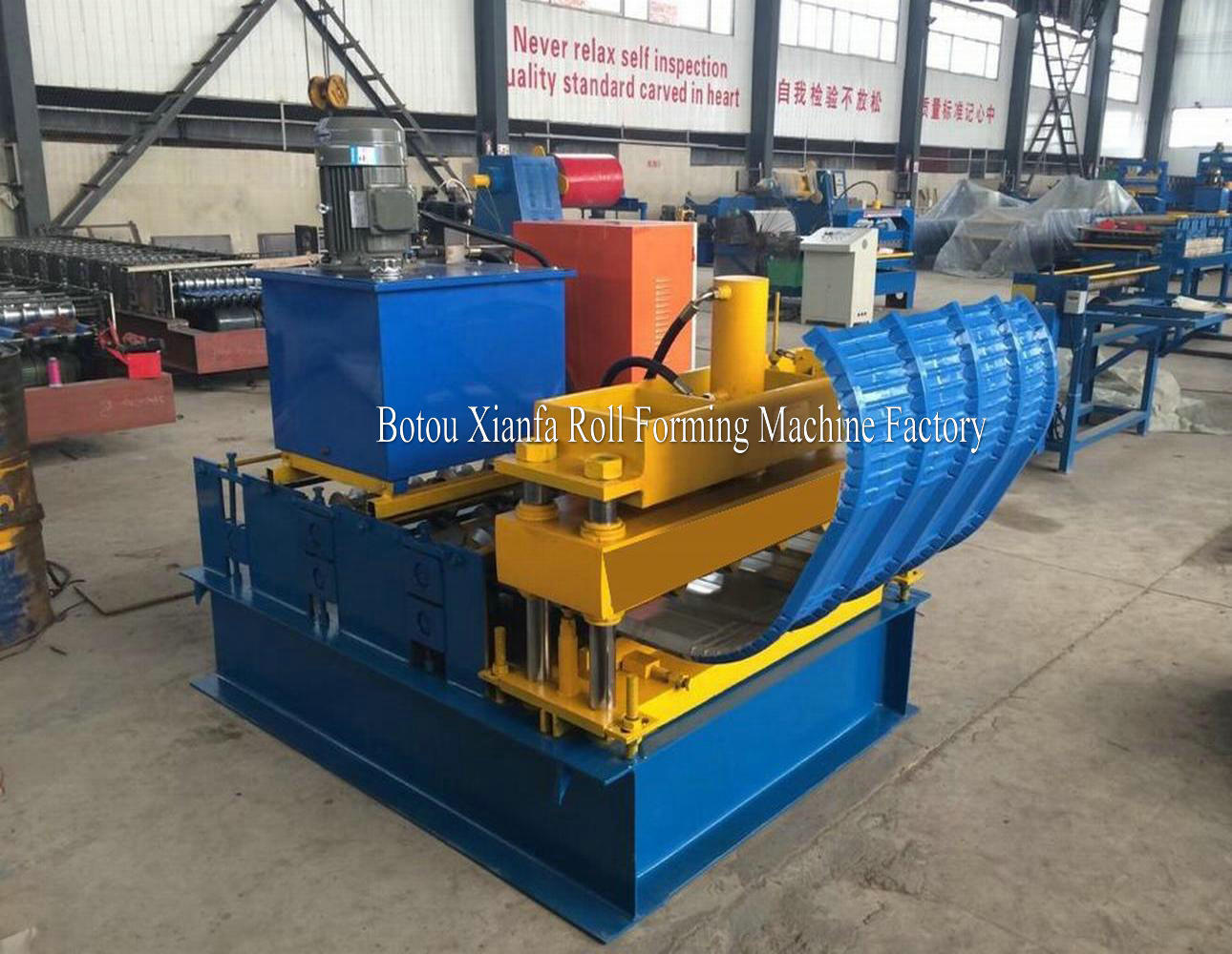 Hydraulic Arc Roll Forming Machine
