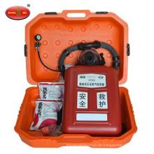 Isolierter Überdruck-Sauerstoff-Atmungsapparat