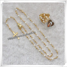 4mm Small Religious Beads Rosary (IO-cr322)