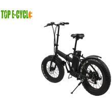 China 36v fette Reifen elektrische Fahrrad faltendes Fahrrad ebike Batterie