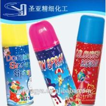 aerosol de espuma / nieve pulverizada