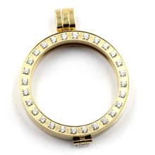 Alta qualidade em aço inoxidável Locket pingente para colar