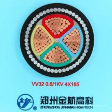 Cabo de alimentação blindado do fio de aço isolado do PVC (1KV4-185)