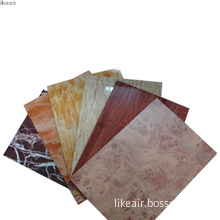 Stone and Wooden Sheet Metal