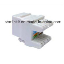 10g CAT6A UTP Keystone Jack 180 Grad für Information Outlet