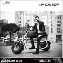 2016 Popular Harley estilo 800W Brushless Electric Scooter elétrico