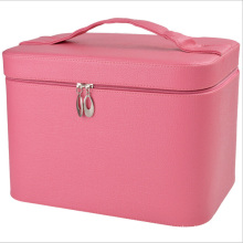 The 2015 New Collection High Quality Leather Cosmetic Bag (hx-q085)