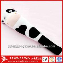 Soft cartoon cow plush massage sticks