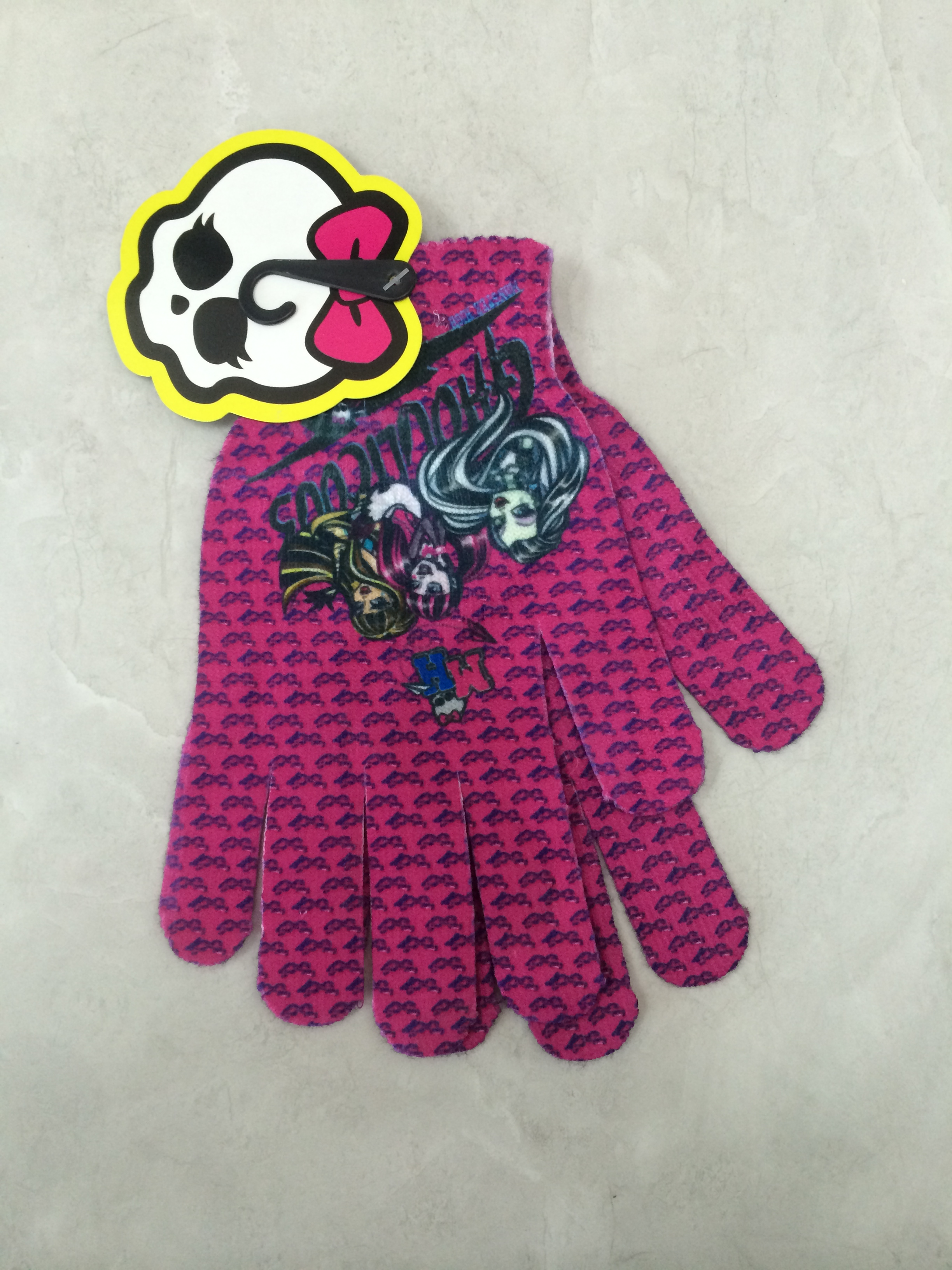 Sublimation Printing Knitting Gloves