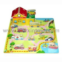 Wooden 3D Puzzle with Vehicle (81274)