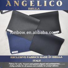 Angelico italiano traje merino telas 100% lana en stock