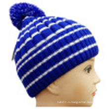 Трикотажная шапочка для зимы NTD1612