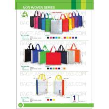non-tissé de promotion shopping bag, Cabas pliant non tissé, eco promotionnel non tissé Cabas, jetables cadeau Shopping non tissé