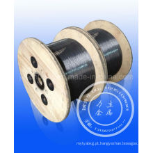 Hot-Oil que tempera o fio de aço 0.5-6.5mm / o melhor fio de aço patenteado 0.15-15.0mm