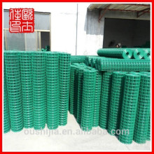 heavy gauge 1X1 pvc coated welded wire mesh