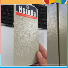 Hsinda Ral7032 Große Falten Textur Pulverbeschichtung