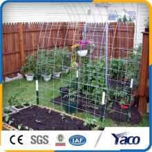 Panel de malla soldado con autógena galvanizado en caliente de alta calidad para la decoración del jardín