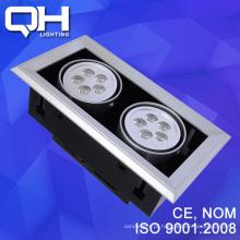 2 * 5 * 1w diodo emissor de luz LED pode ser escurecido teto lâmpada de luz LED de feijão