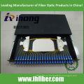 19 pulgadas deslizable bastidor montado en rack 1U SC 24 Puerto