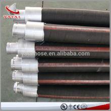 Manguera de voladura de arena resistente a la abrasión trenzada de alambre de acero