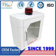 Hsinda Cabinet CE aprobación pared montaje aed caja con alarma