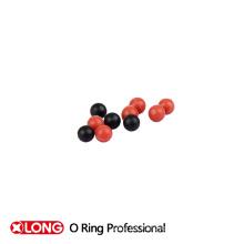 Productos baratos negro y rojo bola de goma de espuma