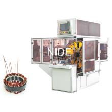 Máquina automática de bobinado de onda de bobina del estator