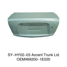 Trunk Lid For Hyundai Accent