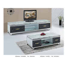 Marble Coffee Table TV Stand for Living Room Furniture (1312)