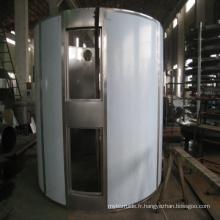 Séchoir continu de plat de série de Plg pour l'accélérateur en caoutchouc pour le produit chimique