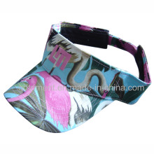 Tissu imprimé coloré Broderie Leisure Sun Visor (TMV2156)