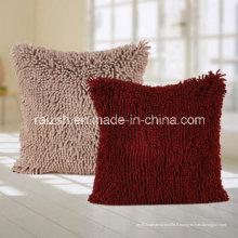 Housse de coussin de canapé en laine corallienne européenne