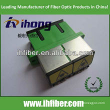 SC duplex Fiber Optic adapter with shutter manufacturer supply with high end quality