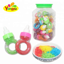 Sweet Fruity Flavor Nipple Ring Colorful Dragee Candy