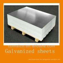 besten Dach Blatt verzinkte Stahlbleche